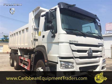 howo    ton dump truck caribbean equipment  classifieds  heavy industrial