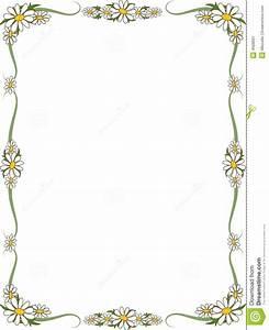 Free Daisy Border Clipart