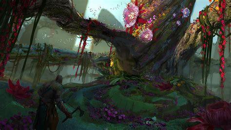 Rumored God Of War Concept Art Shows Kratos Tackling Norse