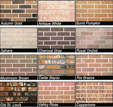 CBC Brick Hickory | Brick & Stone Colors | Pinterest | We ...