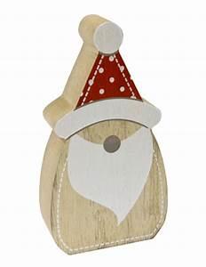 Pere Noel Decoration : d coration en bois p re noel nordique 6 5 x 2 5 x 12 cm d coration anniversaire et f tes ~ Melissatoandfro.com Idées de Décoration