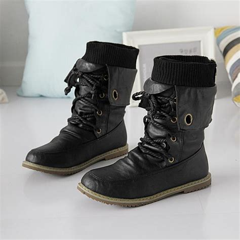 womens biker boots fashion fashion motorcycle martin ankle boots for women autumn