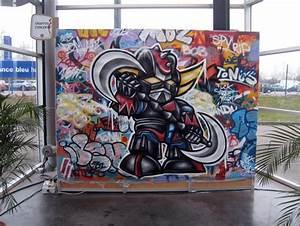 Toile Street Art : divers particuliers graffiti concept ~ Teatrodelosmanantiales.com Idées de Décoration
