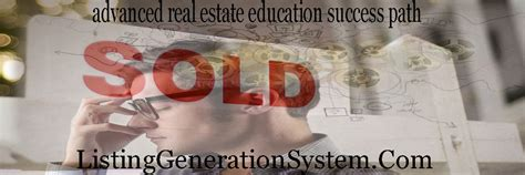 Advanced Real Estate Education Success Path Listing