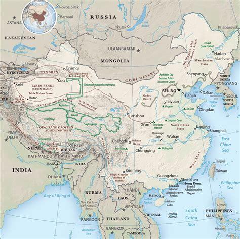 map  china beijing hong kong