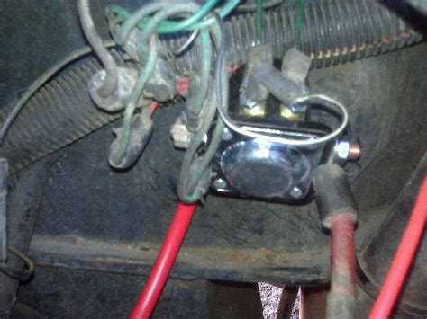 1996 Jeep Starter Solenoid Wiring by 1987 Jeep Wrangler Sport One Fried Hooked Ride Of