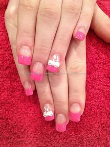 Pink Tip Nail Art | www.pixshark.com - Images Galleries ...