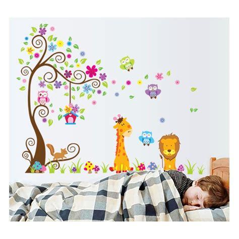 chambre bebe bebe9 bebe 1 arbre geant et 9 elements jardin décoration chambre