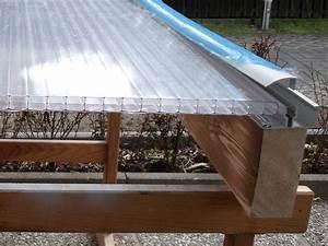 Doppelstegplatten Verlegen Unterkonstruktion : terrassen berdachung selber bauen schritt f r schritt ~ Frokenaadalensverden.com Haus und Dekorationen