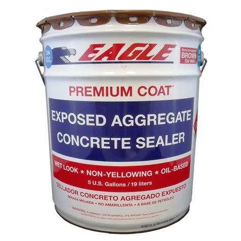 shop 5 gallon brown semi transparent gloss concrete sealer