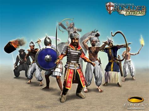 tentang game karakter karakter stronghold crusader
