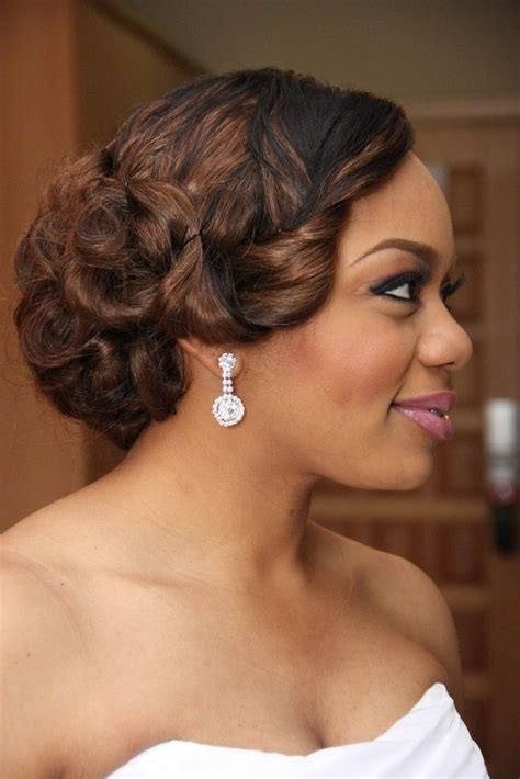 Updo Hairstyles For Black Wedding by 20 Wedding Hairstyles For Black Ideas Wedding