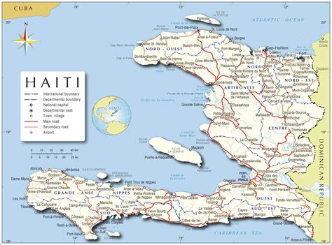 Haiti Karte : Haiti   Landkarten kostenlos - Cliparts ...