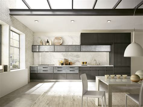 linear kitchen with integrated handles timeline timeline