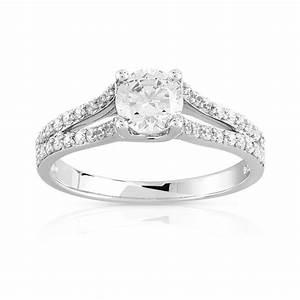 bague fiancaille pour femme argent pas cher silver rings With bague en or pas cher