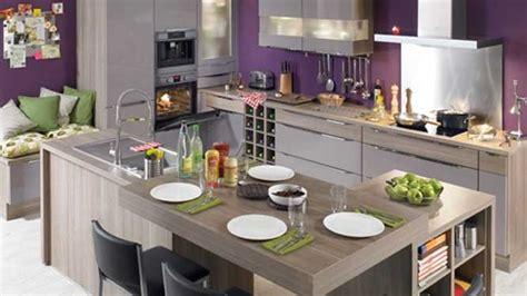 cuisine blanc et violet prix credence cuisine violet crédences cuisine
