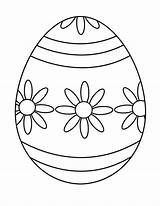 Easter Eggs Coloring Pages sketch template