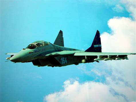 Mig-35 Fighter Jet Russian Airplane Plane Military Mig (6