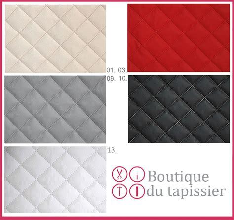 tissu au metre pour canapé simili cuir piqués blanc tissu ameublement au mètre