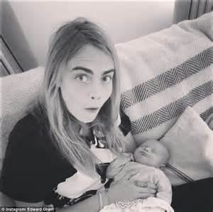Second Child Baby Shower by Cara Delevingne Shows Off Her Maternal Side As She Cradles