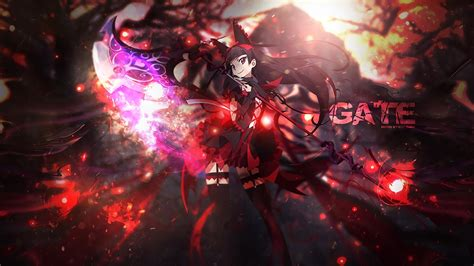 Gate Anime Hd Wallpaper - gate hd wallpaper background image 1920x1080 id