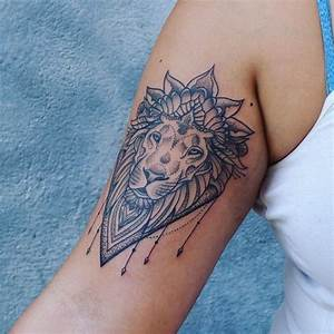 Tattoo Löwe Arm : 1001 coole l wen tattoo ideen zur inspiration tattoo ideen pinterest tattoos lion ~ Frokenaadalensverden.com Haus und Dekorationen