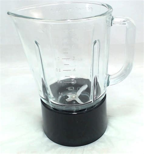 W10279534  Kitchenaid Blender Glass Jar Assembly Black