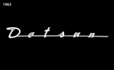 vintage datsun logo the evolution of the nissan datsun logo
