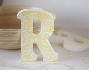 Wooden letters for nurseryletterbabynursery letterwood for Letter blocks decor