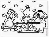 Coloring Pages Restaurant Breakfast Colouring Boowa Kwala Dinnerware Coloringpages Sheet February Games Results sketch template
