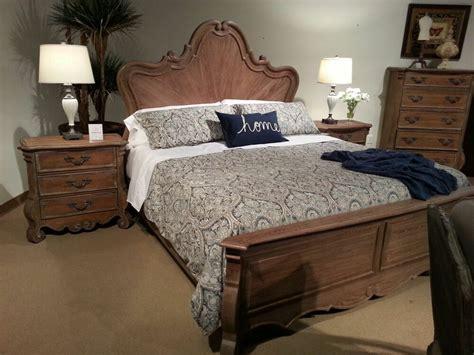 awesome antique  oak queen bed bedroom furniture ebay