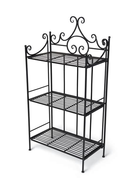 Folding Etagere by Esschert Folding Etagere Indoor Outdoor Plant Stand