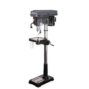 17 in 16 speed drill press