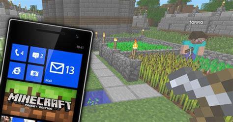 phone tech wp8 1 minecraft pocket edition v0 10 4 40