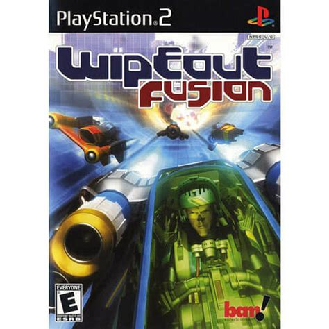 wipeout fusion ps2 game playstation