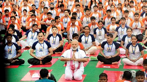 international yoga day    participate
