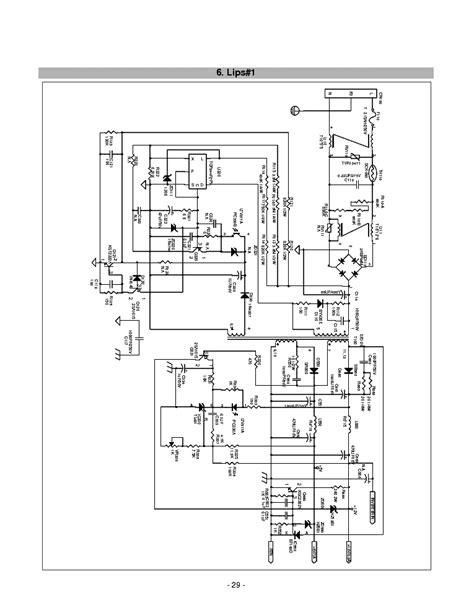 top244f bit3105 lg l1515sl l1516sl chassis cl 32 ccfl inverter service manual