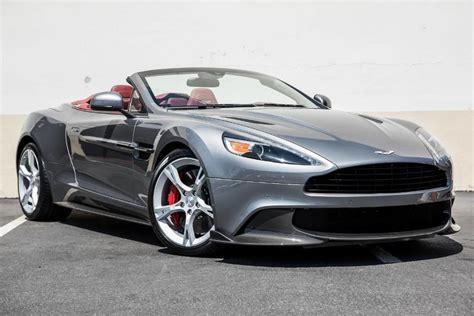 New 2018 Aston Martin Vanquish S Volante Convertible In