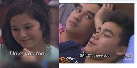 kathryn bernardo ex boyfriends bailey of pbb 737 asks barbie about her virginity they