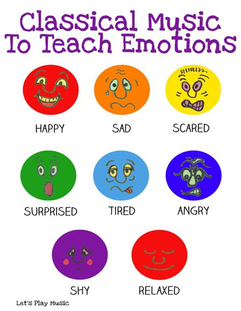 Classical Music To Teach Emotions  Let's Play Music