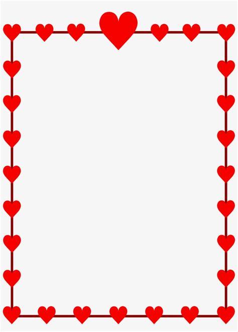 Valentine Clip Art Border - Valentines Day Border Clip Art ...