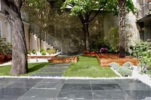 terrasse jardin de ville With amenagement d un petit jardin de ville 3 amenagement jardin en ville marseille slowgarden