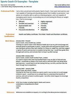 105 best images about sports coaching on pinterest sport for Sports profile template
