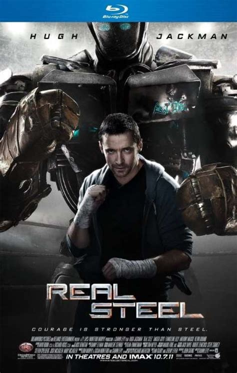 real steel  p bluray mb