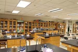 High School Science Lab Room