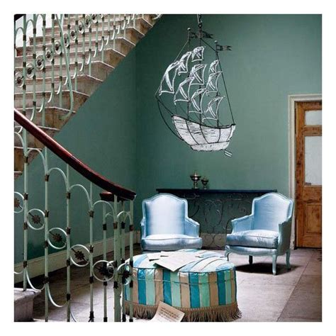 Farrow & Ball Blue Green   Interiors By Color