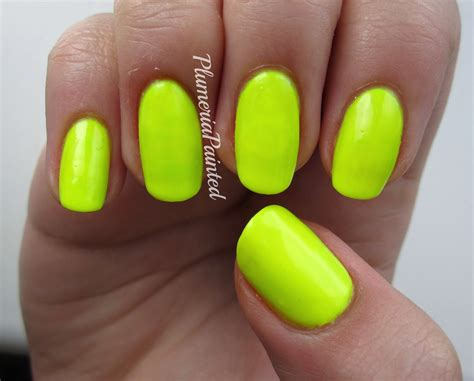 Fluro Yellow Nail Polish