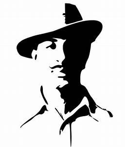 Studio Briana Patriot Bhagat Singh Portrait Wall Decal on