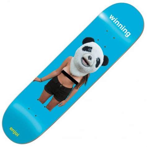 enjoi skateboards enjoi winning skateboard deck 7 75