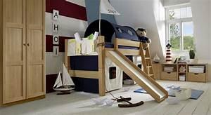 Indoor Rutsche Kinderzimmer : halbhohes hochbett mit rutsche kids fantasy ~ Bigdaddyawards.com Haus und Dekorationen